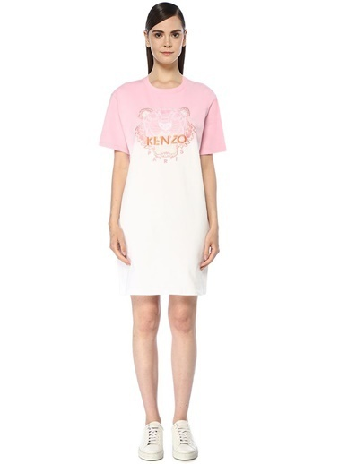 Kenzo Elbise Pembe